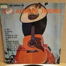 Discos de vinilo: TODOS LOS ÉXITOS DE JOSÉ ALFREDO JIMÉNEZ / LP - OLYMPO-1976 / MBC. ***/***. Lote 163331524