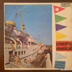 Discos de vinilo: CRUCERO MUSICAL SELLO: ORLADOR ?– 30063 B SERIE: CONOCIDAS MELODÍAS DEL MUNDO – FORMATO: VINYL, LP . Lote 153220094