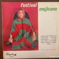 Discos de vinilo: ROBERTO DELGADO Y SU ORQUESTA* ?– FESTIVAL MEJICANO SELLO: PERGOLA ?– 30139 B FORMATO: VINYL, LP, 10. Lote 153220426