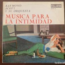 Discos de vinilo: RAYMOND SCOTT Y SU ORQUESTA* ?– MÚSICA PARA LA INTIMIDAD SELLO: ORLADOR ?– 30123 B FORMATO: VINYL . Lote 153220630
