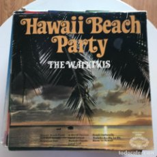 Discos de vinilo: WAIKIKIS - HAWAII BEACH PARTY - LP HALLMARK UK 1965. Lote 153243354