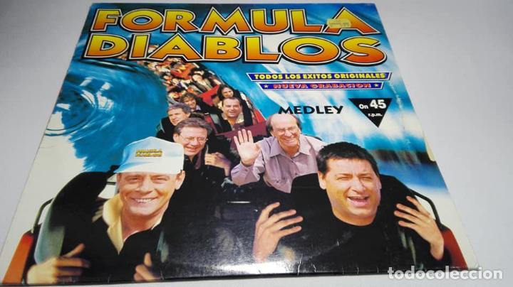 LP - VINILO - FORMULA DIABLOS – FORMULA DIABLOS (TODOS LOS ÉXITOS ORIGINALES) - 74321392541 (Música - Discos - LP Vinilo - Disco y Dance)