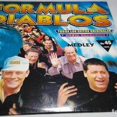 Discos de vinilo: LP - VINILO - FORMULA DIABLOS – FORMULA DIABLOS (TODOS LOS ÉXITOS ORIGINALES) - 74321392541. Lote 196661132