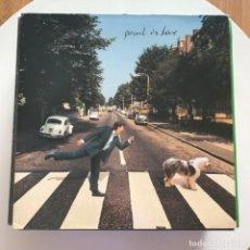 Discos de vinilo: PAUL MCCARTNEY - PAUL IS LIVE - LP DOBLE PARLOPHONE UK 1993. Lote 153247446