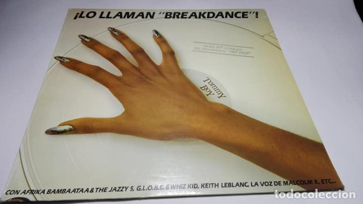 LP - VINILO - ¡LO LLAMAN BREAKDANCE! - 93-080 (Música - Discos - LP Vinilo - Disco y Dance)
