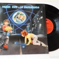 Discos de vinilo: LP LA ENCRUCIJADA, MÍGUEL RIOS, 1984. Lote 153252986