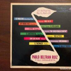 Discos de vinilo: PABLO BELTRÁN RUIZ Y SU ORQUESTA* ?– 12 RITMOS BAILABLES SELLO: RCA VICTOR ?– LPM 10247 . Lote 153254014