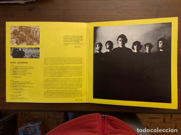 Discos de vinilo: Quilapayún ?– Basta Sello: Movieplay ?– S-32.623 Serie: Serie Gong – Formato: Vinyl, LP, Compilation - Foto 2 - 153255098