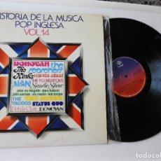Discos de vinilo: HISTORIA DE LA MÚSICA POP INGLESA, VOL. 14, AÑO 1978. Lote 153255486