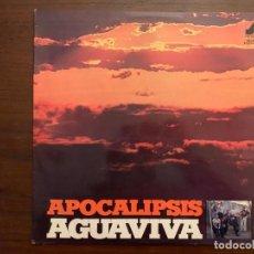 Discos de vinilo: AGUAVIVA ?– APOCALIPSIS SELLO: NEVADA ?– ND-1215 FORMATO: VINYL, LP, ALBUM, REISSUE PAÍS: SPAIN . Lote 153256018
