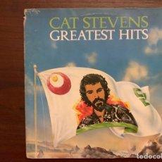 Discos de vinilo: CAT STEVENS ?– GREATEST HITS SELLO: ISLAND RECORDS ?– 89091-I FORMATO: VINYL, LP, COMPILATION . Lote 153256882