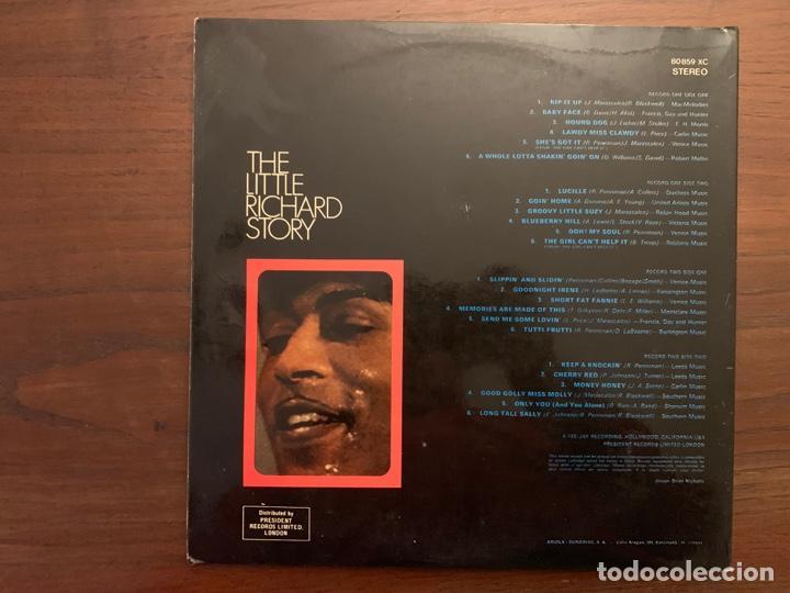 Discos de vinilo: Little Richard ?– The Little Richard Story Sello: President Records ?– 80 859-XC Formato: 2 × Vinyl - Foto 3 - 153257222