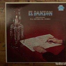 Discos de vinilo: ORQUESTRA ANTONIO MARÍA ROMEU* ?– EL DANZON SELLO: PANART ?– LP-3037 FORMATO: VINYL, LP, MONO . Lote 153261086