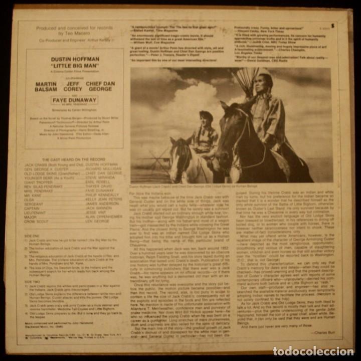 Discos de vinilo: Pequeño gran hombre - Little Big Man - Foto 2 - 153262274