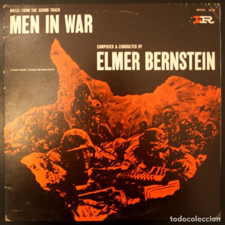 LA COLINA DE LOS DIABLOS DE ACERO - MEN IN WAR (Música - Discos - LP Vinilo - Bandas Sonoras y Música de Actores )