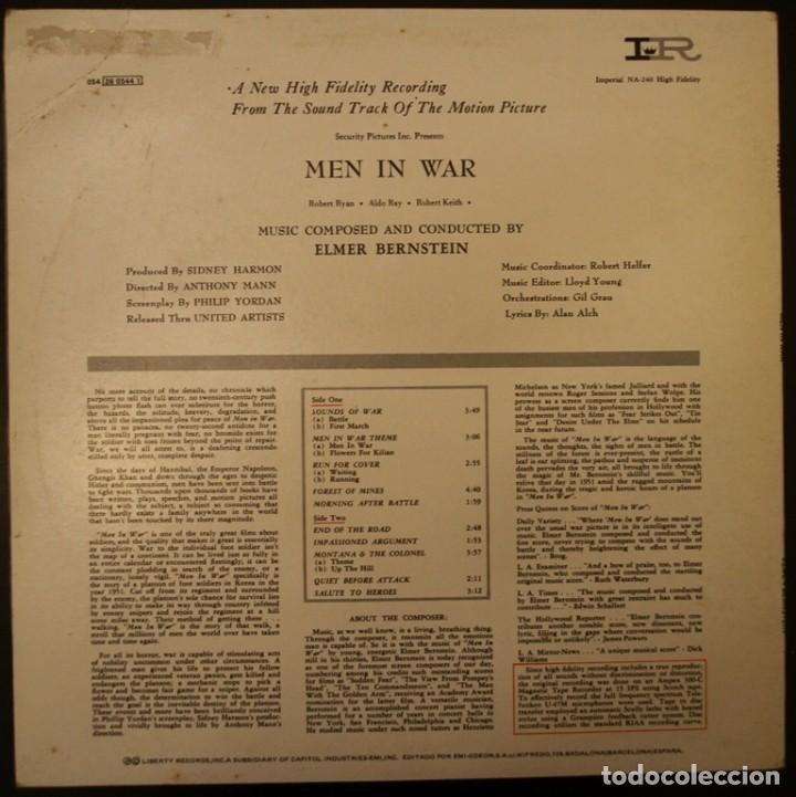 Discos de vinilo: La colina de los diablos de acero - Men in War - Foto 2 - 153262506