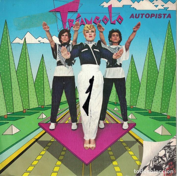 TRIANGOLO - AUTOPISTA / MUERDEME DRACULA (SINGLE PROMO ESPAÑOL, EPIC 1980) (Música - Discos - Singles Vinilo - Grupos Españoles de los 70 y 80)