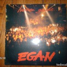 Discos de vinilo: EGAN - HEMEN GAUDE . Lote 153311222