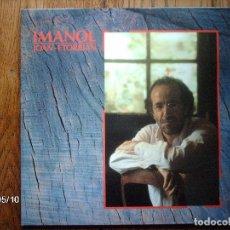 Discos de vinilo: IMANOL - JOAN ETORRIAN . Lote 153311878
