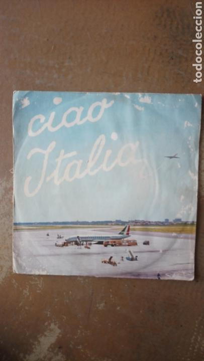 CIAO ITALIA - ARTURO TESTA / ALDO PAGANI. DOCTOR ZHIVAGO - DOVE, NON SO. SINGLE TUNDER RECORD (Música - Discos - Singles Vinilo - Orquestas)