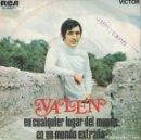 Discos de vinilo: VALEN - EN CUALQUIER LUGAR DEL MUNDO / EN UN MUNDO EXTRAÑO (SINGLE ESPAÑOL, RCA 1969). Lote 153318858