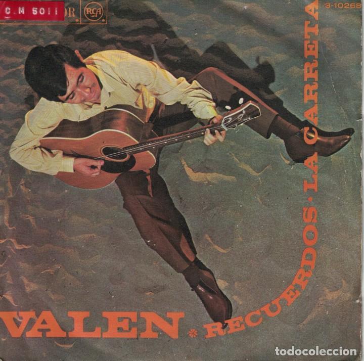 VALEN - RECUERDOS / LA CARRETA (SINGLE ESPAÑOL, RCA 1968) (Música - Discos de Vinilo - Maxi Singles - Solistas Españoles de los 50 y 60)