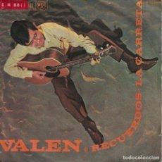 Discos de vinilo: VALEN - RECUERDOS / LA CARRETA (SINGLE ESPAÑOL, RCA 1968). Lote 153319042