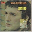Discos de vinilo: VALENTINO - AMIGO / TRISTEZA DEL POR QUE (SINGLE ESPAÑOL, POLYDOR 1969). Lote 153319650