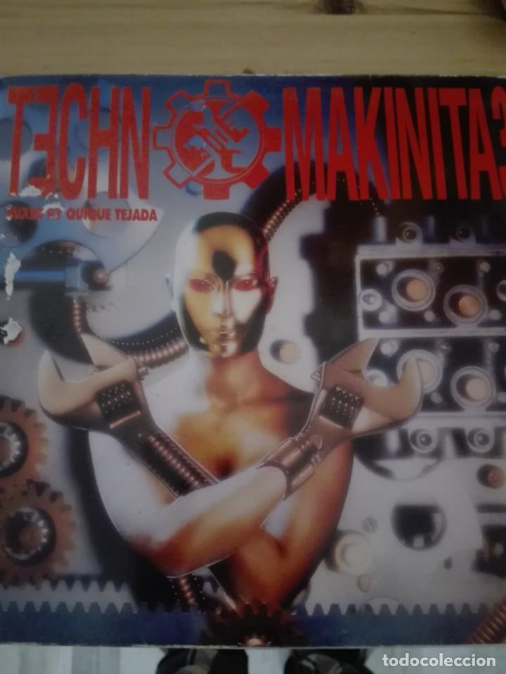 TECHNO MAKINITA 3 MIXED BY QUIQUE TEJADA (Música - Discos - LP Vinilo - Techno, Trance y House)