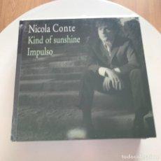 Discos de vinilo: NICOLA CONTE - KIND OF SUNSHINE - 12'' MAXISINGLE SCHEMA 2004 NUEVO. Lote 153326250