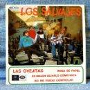 Discos de vinilo: LOS SALVAJES - LAS OVEJITAS + 3 EP EMI REGAL SEDL 19.531 AÑO 1967 GARAGE FREAKBEAT EXCELENTE ESTADO. Lote 153338262