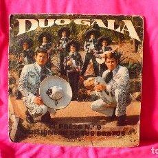 Discos de vinilo: DUO GALA -- EL PRESO. Nº 9 / PRISIONERO DE TUS BRAZOS, OLYMPO 1973.. Lote 153347614