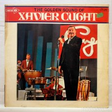 Discos de vinilo: XAVIER CUGAT - THE GOLDEN SOUND - CORAL COPS 3410 - DISCO DE VINILO LP. Lote 153349990