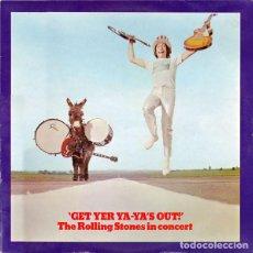 Discos de vinilo: THE ROLLING STONES / GET YER YA-YA´S OUT! (LP) 1970 (DECCA / COLUMBIA ESPAÑOLA). Lote 153357058