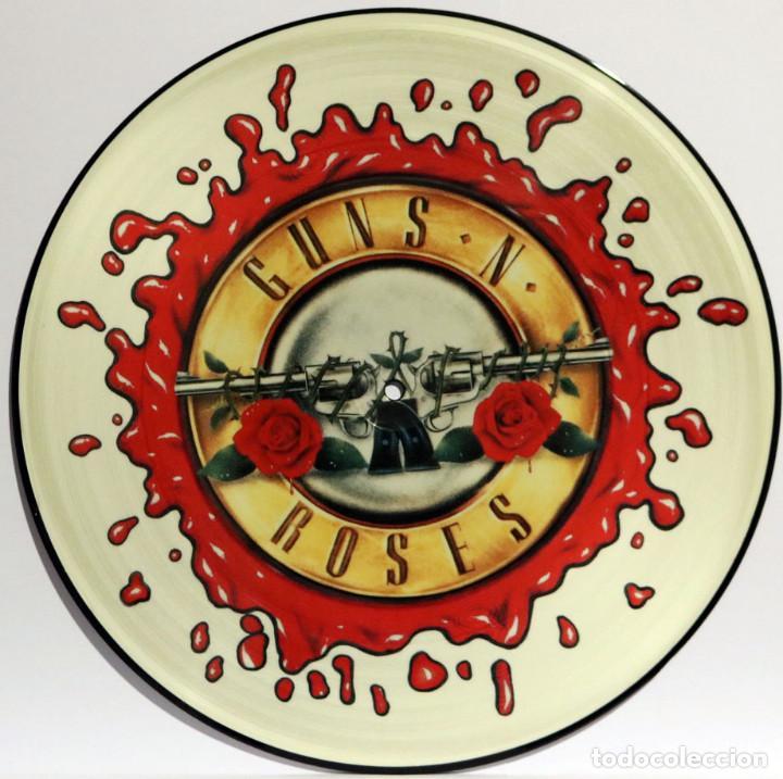 GUNS´N´ROSES / NOVEMBER RAIN + SWEET CHILD O´MINE + PATIENCE (MX) 1991 (GEFFEN) PICTURE DISC (Música - Discos de Vinilo - Maxi Singles - Rock & Roll)