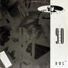 Discos de vinilo: MEMBERS ONLY DJ (LP) 1990 (DMC) GUNS´N´ROSES / FPI PROJECT Y OTROS. Lote 153362202