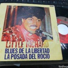 Discos de vinilo: LITTLE RICHARD SINGLE BLUES DE LA LIBERTAD ESPAÑA 1970 ESCUCHADO. Lote 153390773