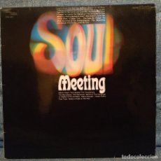 Discos de vinilo: SOUL MEETING - THE SUPREMES, FOUR TOPS, MARVIN GAYE, THE MARVELETTES, STEVIE WONDER, THE TEMPTATIONS. Lote 153391114