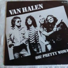Discos de vinilo: SINGLE/VAN HALEN/OH PRETTY WOMAN.. Lote 153424642