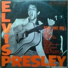 Discos de vinilo: ELVIS PRESLEY. EL ROCK & ROLL DE ELVIS PRESLEY. RCA, SPAIN 1968 LP (LSP 1707). Lote 153426006