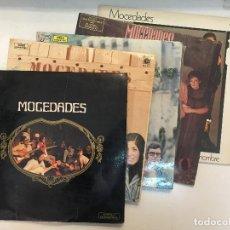 Discos de vinilo: LOTE 5 LP VINILO MOCEDADES. MOCEDADES 2 - 3 - 5 - AMOR DE HOMBRE Y LA MÚSICA.. Lote 153426294