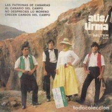 Dischi in vinile: ATIS TIRMA - LAS PATRONAS DE CANARIAS - EP DE 4 CANCIONES FOLKLORE CANARIO. Lote 153431074