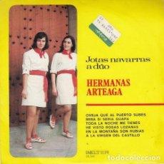 Dischi in vinile: HERMANAS ARTEAGA - EP DE 6 CANCIONES JOTAS NAVARRAS A DUO. Lote 153431170