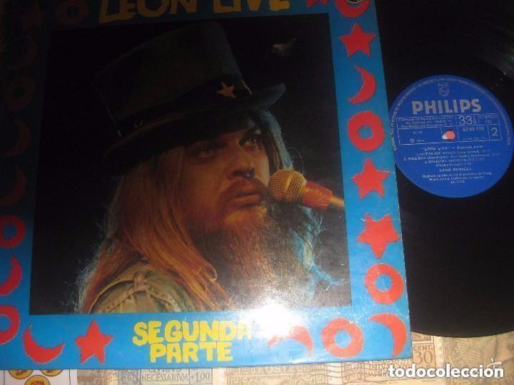 LEON RUSSELL LIVE SEGUNDA PARTE (1974 PHILIPS) OG ESPAÑOLA (Música - Discos - LP Vinilo - Pop - Rock - Extranjero de los 70)