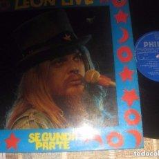 Discos de vinilo: LEON RUSSELL LIVE SEGUNDA PARTE (1974 PHILIPS) OG ESPAÑOLA. Lote 153433466
