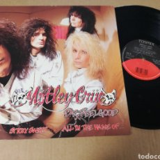 Discos de vinilo: MÖTLEY CRÜE STICK SWEET / ALL IN THE NAME OF.... Lote 153444380