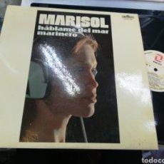Discos de vinilo: MARISOL LP HABLAME DEL MAR MARINERO IMPERIAL 1981. Lote 153452964