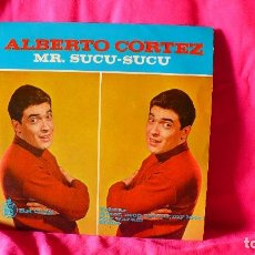 Discos de vinilo: ALBERTO CORTEZ -- TELSTAR, AMOR MON AMOUR MY LOVE, SAG WARUM, MONA, HISPA VOX 1963. ESTA NUEVO.. Lote 153459870