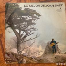 Discos de vinilo: JOAN BAEZ ?– LO MEJOR DE JOAN BAEZ SELLO: HISPAVOX ?– HVAS 471-02, HISPAVOX ?– HVA (S) 471-02 . Lote 153466238