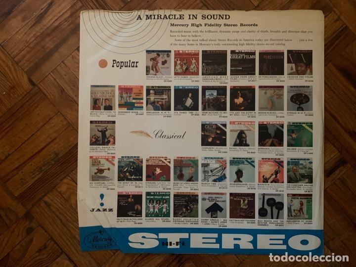 Discos de vinilo: Patti Page ?– The Waltz Queen Sello: Mercury ?– SR 60049 Formato: Vinyl, LP, Stereo País: US - Foto 3 - 153477822